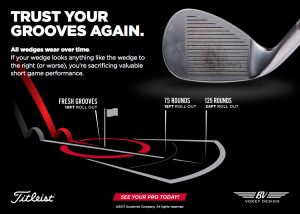 Vokey Wedge. Titleist. Serra Golf Academy, donde el golf es pasión. Golf grooves