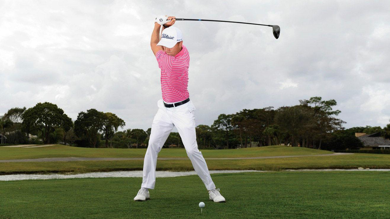 Justin Thomas, Drive. Serra Golf Academy, donde el golf es pasión.