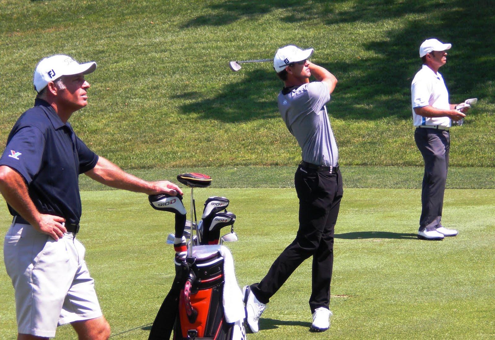 Adam Scott. Golf Swing. Serra Golf Academy, donde el golf es pasión