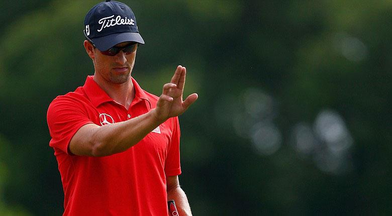 Adam Scott - Aimpoint. Serra Golf Academy, donde el golf es pasión.